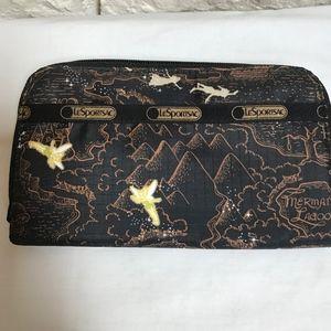 LeSportSac Disney Tinkerbell Peter Pan zip wallet